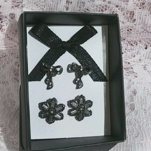 Glamour Stud Earring Duo